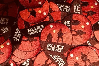Blues Harvest Patches